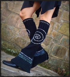 EXAMPLE listing please do not buy Flared LEG WARMERS by GPyoga, $76.00