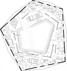 Floorplan © ADEPT Architects Sou Fujimoto