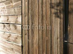 Maserung der Holzwände eines alten  Schuppen in Lipperreihe bei Bielefeld am Teutoburger Wald in Ostwestfalen-Lippe