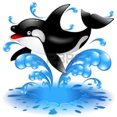 Ambesonne Funny Pet Mat for Food and Water, Summer Holiday Ocean Jumping Killer Whale with Sunglasses Cartoon Animal Love, Rectangle Non-Slip Rubber Mat for Dogs and Cats, Black Blue Cartoon Whale, Cute Cartoon Animals, Cartoon Pics, Animated Shark, Whale Drawing, Ocean Quilt, Easter Coloring Pages, Killer Whales, Pet Mat