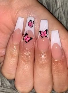 Gel nail extensions and acrylic nails are two long-lasting manicure options. Allure spoke with nail experts about the pros and cons of each ... -- (paid link) Check out this great product. White Tip Acrylic Nails, Bling Acrylic Nails, Acrylic Nails Coffin Short, Summer Acrylic Nails, White Nails, Long Gel Nails, Spring Nails, Coffin Nails, Summer Nails