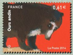 Ours Andin,Issued in 2014, France