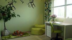 kohde21_lastenhuone Corner Desk, Furniture, Home Decor, Corner Table, Decoration Home, Room Decor, Home Furnishings, Home Interior Design, Home Decoration