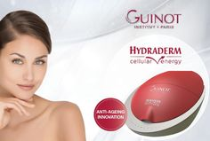 Guinot Hydraderm Cellular Energy Cellular Energy, Bride Hairstyles, Anti Aging, Facial, Spa, Skin Care, Hairstyles For Brides, Bridal Hairstyles, Facial Treatment