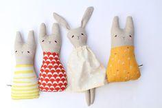 bunny dolls by creative thursday