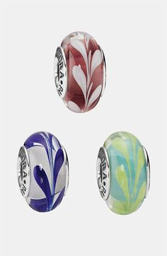 PANDORA 'Swirly Swirl' Murano Glass Charm available at #Nordstrom