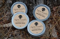 Agnes Russell's Moisturizers and Shaving Soaps