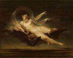 750px-Henry Singleton -   Ariel on a Bat's Back_-_Google_Art_Project