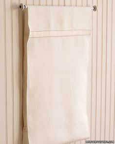 Rolling Towel     Few of us want our own bathrooms to resemble a public restroom in any way, but the rolling hand towel loop is an excellent invention equally useful in the home for providing an always-ready drying surface.    Thank You Martha Stewart