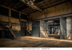Stock Pictures, Stock Photos, Abandoned Factory, Old Factory, Industrial Interiors, Reference Images, Alter, Warehouse, Architecture