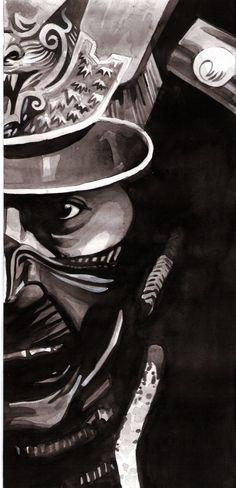 Samurai mask by ~teoduarte on deviantART