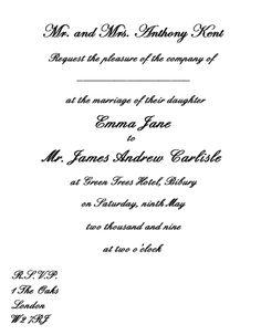 Wedding Invitation Wording Goin to the chapel Pinterest