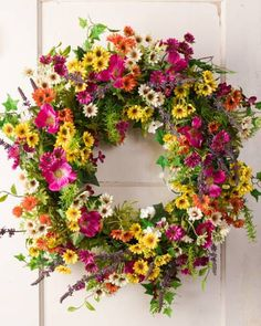 Vibrant beauty of the Meadow Wreath