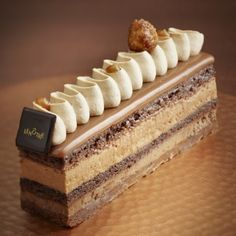 Skills Needed To Become A Patisserie Chef - Useful Articles Gourmet Desserts, Mini Desserts, Plated Desserts, Delicious Desserts, Dessert Recipes, Elegant Desserts, French Desserts, Beautiful Desserts, Patisserie Fine