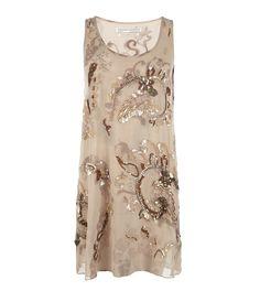 All Saints Oyster Mini Dress