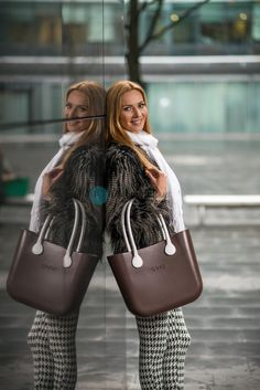 #Obag Fashion Bags, Fashion Outfits, Bago, Winter Looks, Purses And Bags, Wallets, Handbags, Chic, My Style