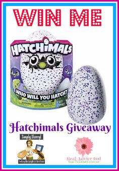 Grab this chance to win the hottest toy of the year. Join our Hatchimals giveaway