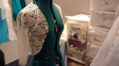 Stretchy Lace bolero, will be completed with trim of brides choice