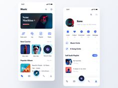 Kougou music player designed by Xena. Connect with them on Dribbble; Ui Design Mobile, Mobile Application Design, App Ui Design, Blog Design, Musik Player, App Design Inspiration, Music App, Apps, Ios App