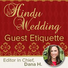 Etiquette For Wedding Gifts When Not Attending : Gift Guide #4 : Hindu #Wedding Guest #Etiquette . If youre attending ...