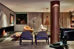 Living do Colecionador - Casa Cor. Salas, Rooms