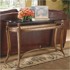 Hammary Suffolk Bay Console Table