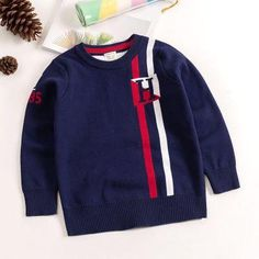 0ff42e89 Kids sweaters boys striped sweaters children pullover 2018 spring autumn  baby boy knitted children boy sweater winter clothes