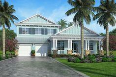 Marisol Bay - Coastal Home Plans Cottage Design, Farmhouse Design, Custom Home Designs, Custom Homes, Cottage Style House Plans, New Home Construction, Beach Design, House Floor Plans, Great Rooms