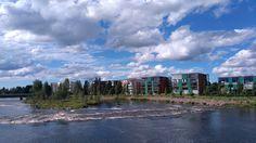 Kalajoki at Ylivieska.  #river #water #summer #beautiful #view #finland #suomi #travel