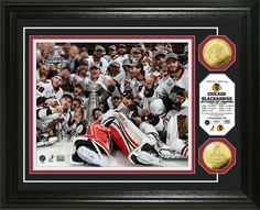2013 Stanley Cup Chicago Blackhawks Celebration Photo Mint $99.99 Click image to buy. #Blackhawks #Stanleycup #NHL #Hockey