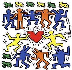 Keith Haring  aura toujours en tête de démocratiser l'art, alors il descend dans le métro de New York pour y dessiner sur les murs, ce qui lui vaut de nombreuses arrestations par la police. Ses dessins sont faits à la craie blanche sur les panneaux publicitaire. Il repère un espace vide, le recouvre vite fait de papier kraft et dessine dessus rapidement.Haring_metro Toujours dans le mouvement alternatif, il travaille de jour comme de nuit, fréquente Jean- Michel Basquiat, prend du LSD…