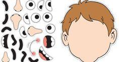 Descubrir las partes del rostro harán que el.niño y la niña los identifique