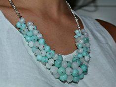 Women's Necklace Gemstone Necklace Amazonite Necklace Gift