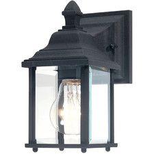All Outdoor Wall Lights - Type: Sconce-Wall Lantern, Finish: Black | AllModern