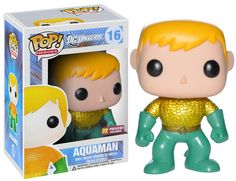 POP HEROES AQUAMAN PX VINYL FIG NEW 52 VERA PREVIEWS Exclusive! Inspired by the urban and stylized character designs of today's designer toys, Funko presents a new take on classic comic book character