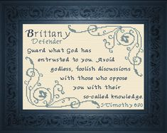 Adrian - Name Blessings Personalized Cross Stitch Design from Joyful Expressions Cross Stitch Charts, Cross Stitch Designs, Cross Stitch Embroidery, Cross Stitch Patterns, Hand Embroidery, Cross Stitches, Last Stitch, Favorite Bible Verses, Christians