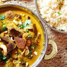 A Mughal lamb dish simmered in almond milk, spices, fruits, and nuts. A meal fit for a king.