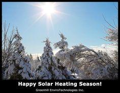 May your cold season be full of warmth! #solarheat #okapi #greenhill #makeswinterawesome