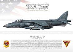 """AV-8B+""""Harrier II"""" VMA-311 JP-1918"""