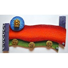 Nameplate-Ganesha with Symbols