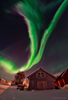 Northern Lights over Norway°°: