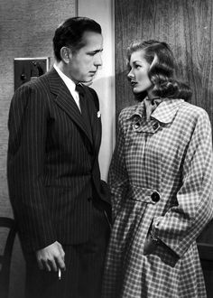 Humphrey Bogart and Lauren Bacall in Dark Passage (1947)
