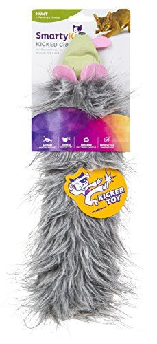 SmartyKat Kicked Critter Kicker Plush Cat Toy *** Amazon most trusted e-retailer #CatToys