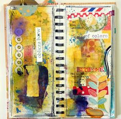 Lovely Art Journals on Flickr by MUMKAA