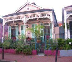 I'd love to own a vacation home/rental on the edge of the French Quarter in New Orleans.