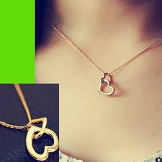 Heart in Heart Fashion Necklace | LilyFair Jewelry, $14.99!