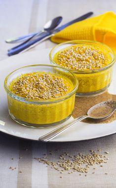 Gratin de courge aux graines de sésame Healthy Recipes, Healthy Food, Cereal, Fish, Meat, Breakfast, Drizzle Cake, Kitchens, Healthy Foods