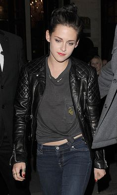 ParisStew.  Leather jacket style.  March 2012.