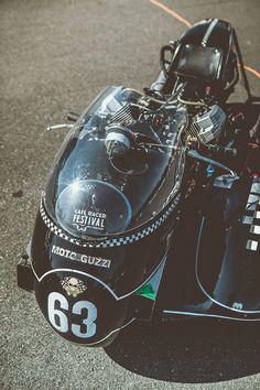 CAFE RACER FESTIVAL by Laurent Nivalle, via Behance