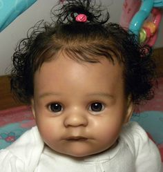 "AMAZING Reborn Ethnic A/A Biracial Baby Girl ""Jesse"" by K. RuBert now ~Akierra~"